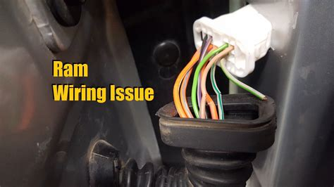 Dodge Ram Wiring Issue (2003 2008)   YouTube