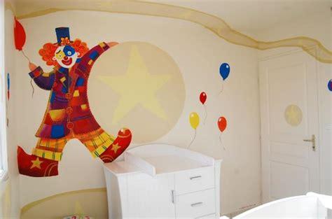 d oration chambre chambre cirque photo 2 4 un clown un éléphant une