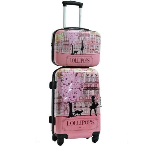 valise cabine et vanity lollipops 50cm achat vente set de valises cdiscount