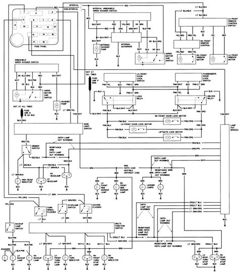 1986 Ford F150 Wiring Diagram by 1990 Ford Steering Column Diagram Repair Guides Wiring