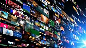 Video Wall Media Streaming (Hd). Stock Footage - YouTube