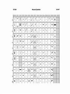 Music Symbols Chart