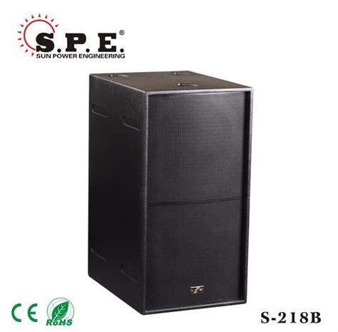 Dual 18 Inch Speaker Cabinet Design