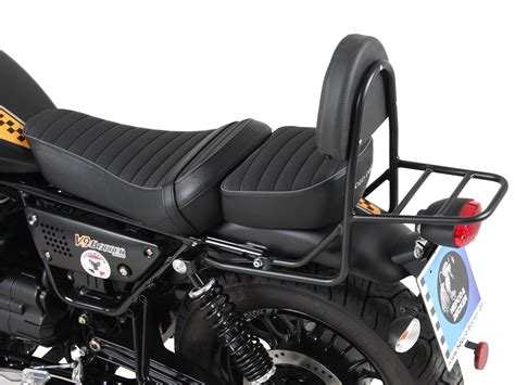 Moto Guzzi V9 Bobber Image by Sissybar With Rearrack Black For Moto Guzzi V9 Roamer