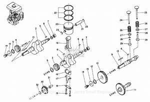 Robin  Subaru Ey14 Parts Diagram For Crankshaft  Camshaft  Piston