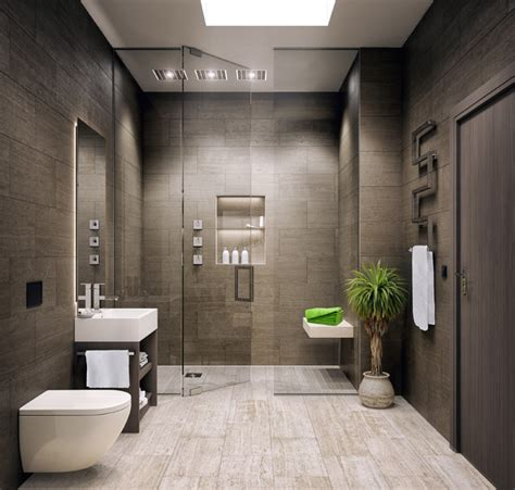 Glass bathroom walls in modern apartment by svoya. Le Bijou Studio Apartment - Modern - Bathroom - Other - by ...