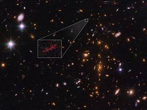 NASA Has First Close Look at Distant Galaxy From Dawn of ...