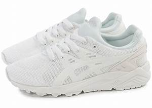 Asics Gel Kayano Trainer Evo F blanche Chaussures Toutes les baskets soldées Chausport