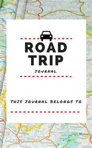 4 best images of road trip journal printable free