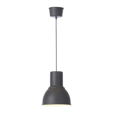 hektar suspension gris fonc 233 22 cm ikea