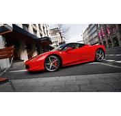 Full HD Wallpaper Ferrari Sports Car Luxury Coupe Town
