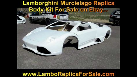 lamborghini murcielago lp fiberglass body kit  sale