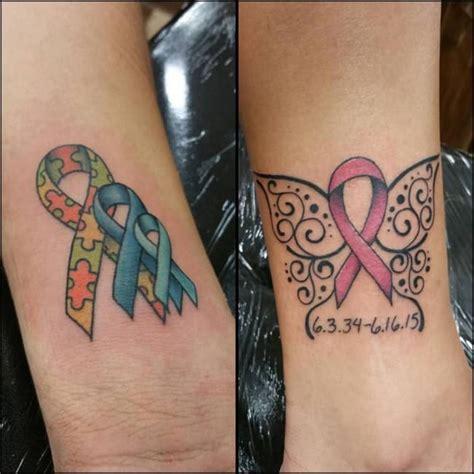 inspiring breast cancer ribbon tattoos october