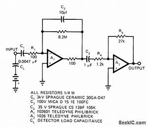 Hodoscope Amplifier - Amplifier Circuit