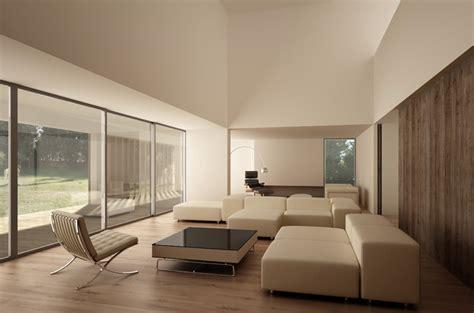 intérieur contemporain de la maison quinta patino ii