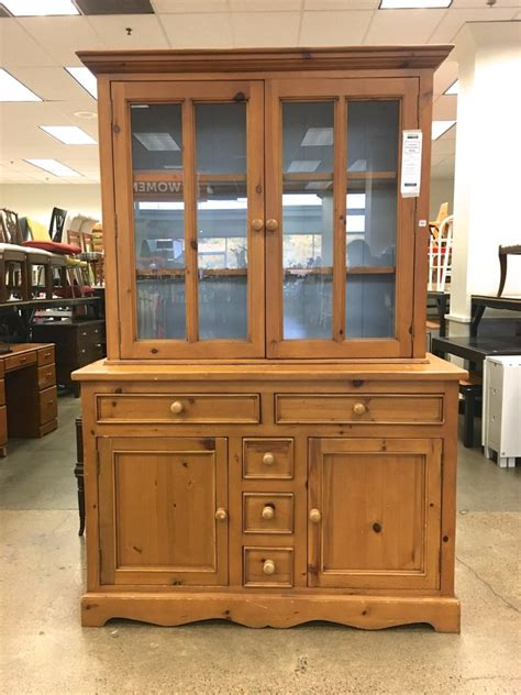 pine hutches knotty pine china hutch makeover saw nail and paint