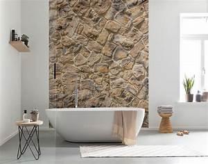 Vliestapete Fürs Bad : vliestapete muro von komar ~ Michelbontemps.com Haus und Dekorationen