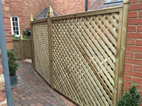 6x6 Trellis Panels by Heavy Planed Trellis 6 X 6