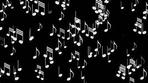 4k Music Notes Background,symbols Melody Composition ...