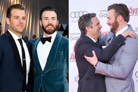 Chris Evans Responded After His Brother And Mark Ruffalo ...