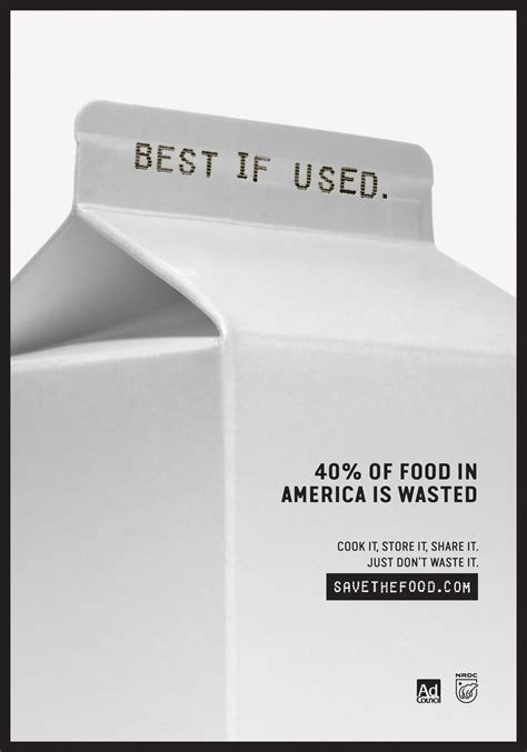 nrdc  ad council launch  save  food national