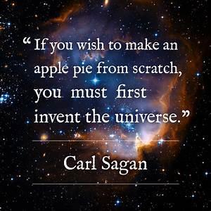 Design challenge, day 5, Carl Sagan's ultimate pie – Mandy Bee