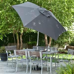 Destinationgear 8 5 Ft  Aluminum Market Umbrella With Wind