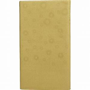 Nappe Papier Noel : nappe en papier dor linge de table de no l d coration table de no l d coration de no l gifi ~ Melissatoandfro.com Idées de Décoration