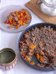 Recette Crumble Salé : crumble sal de poivrons carottes patate douce au thym ~ Melissatoandfro.com Idées de Décoration