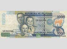 1000 Philippine Peso Santos Escoda Lim exchange yours
