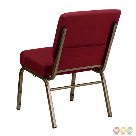 Hercules Stackable Church Chairs by Hercules 21 Wide Burgundy Fabric Stacking Church Chair W