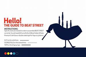 Paper City  Beat Street On Behance