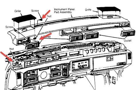 auto manual repair 1996 cadillac eldorado instrument cluster how to remove dash on a 1992 cadillac eldorado service manual how to remove lower dash 2005