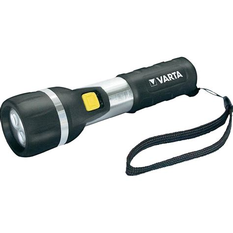 led torch varta day light 2 aa battery powered from conrad