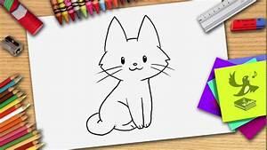 Wie Fange Ich Eine Katze : wie zeichnet man eine katze katze zeichnen lernen youtube ~ Markanthonyermac.com Haus und Dekorationen