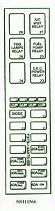 1995 Mazda B2300 Fuse Box Diagram