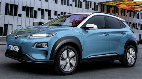 Gesits Electric 2019 by 2019 Hyundai Kona Electric Fully Electric Subcompact Suv
