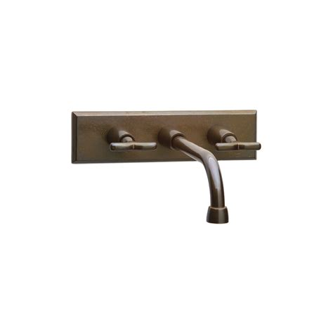 wall mount sink faucet wall mount faucet with rectangular escutcheon wmf