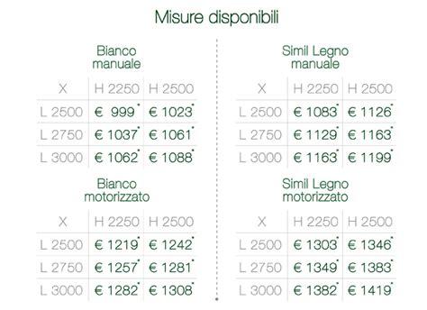 Portoni Sezionali Prezzi by Promozioni Su Serramenti A
