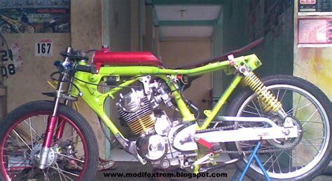 Tiger Modifikasi Drag modification motorcycle honda tiger 2000 drag race