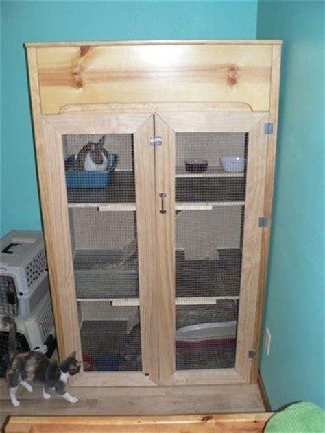 Indoor Wooden Rabbit Hutch - indoor wooden rabbit cage plans woodworking projects plans