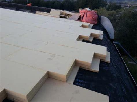 isolation toit terrasse chantier d isolation du toit terrasse d une maison bioclimatique isonat