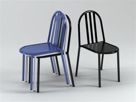 chaise mallet mallet chair 3d model ecart international