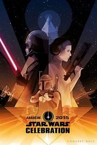 Poster Star Wars : craig drake on his star wars celebration poster ~ Melissatoandfro.com Idées de Décoration