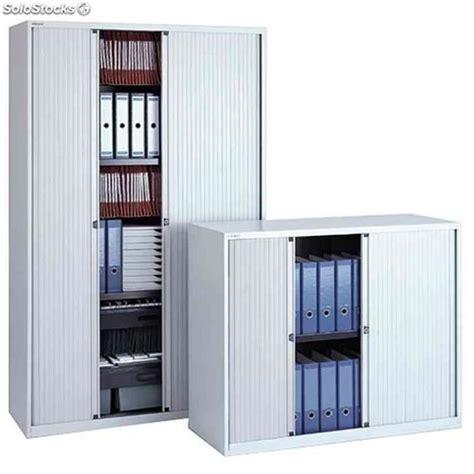 armoire a rideau m 233 tallique