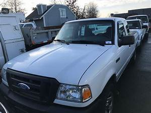 2007 Ford Ranger  White  2 Door Pickup  3 0l  Gas  Automatic  Vin 1ftzr44u87pa46727  154 324kms