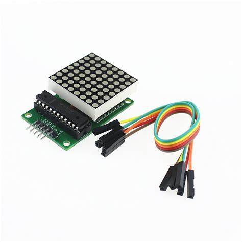 aliexpress buy free shipping max7219 dot led matrix module mcu led display module