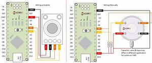 Wiring The Mlx90614 Infrared Contactless Temperature Measurement Sensor On Microcontroller