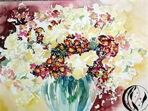 Aquarell Blumen Malen : das neue jahr beginnt aquarell malen am meer ~ Frokenaadalensverden.com Haus und Dekorationen