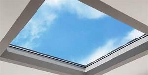 Puit De Lumière Toit Plat : puits de lumi re wallis pour v randa toiture plate ~ Premium-room.com Idées de Décoration